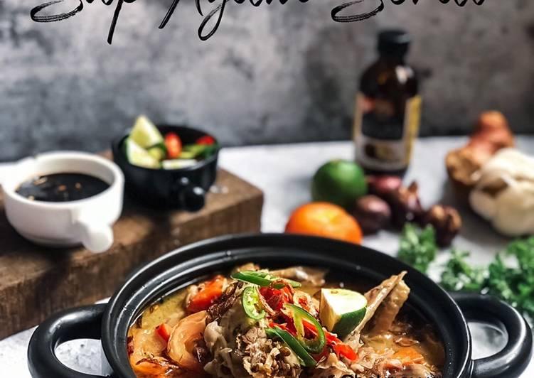 Sup Ayam Serai - velavinkabakery.com