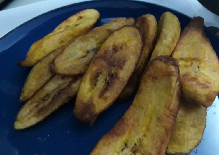How to Prepare Top-Rated Fried plantain