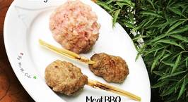 Hình ảnh món Stickyrice meat BBQ style Thai