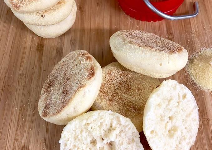 Pâte à muffins anglais