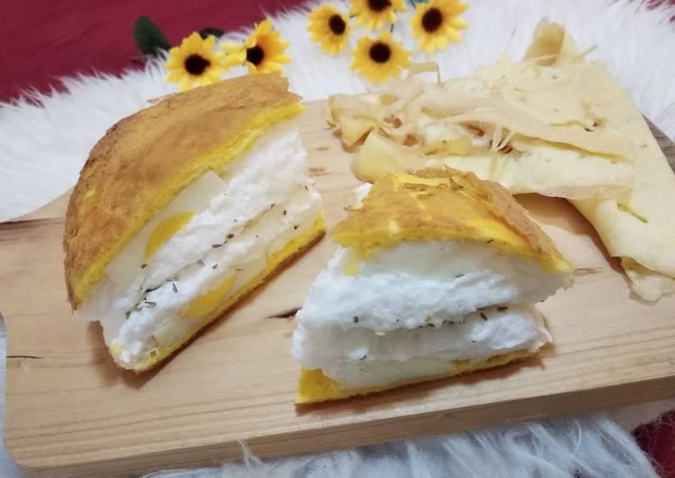 Resep Pancake telur ala perancis Bikin Ngiler