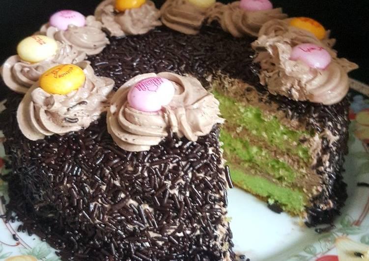 Ice Milo Cake