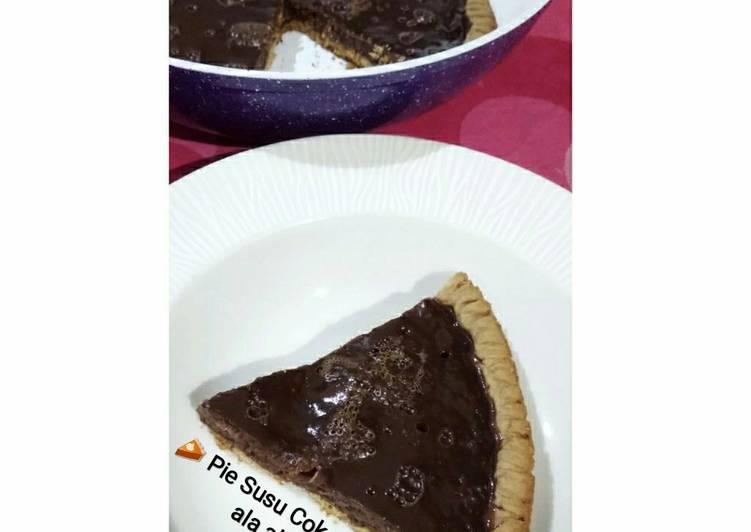 🥧 Pie Susu Cokelat Teflon 🥧