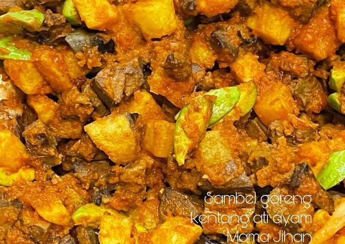 sambel goreng kentang ati pete - resepenakbgt.com