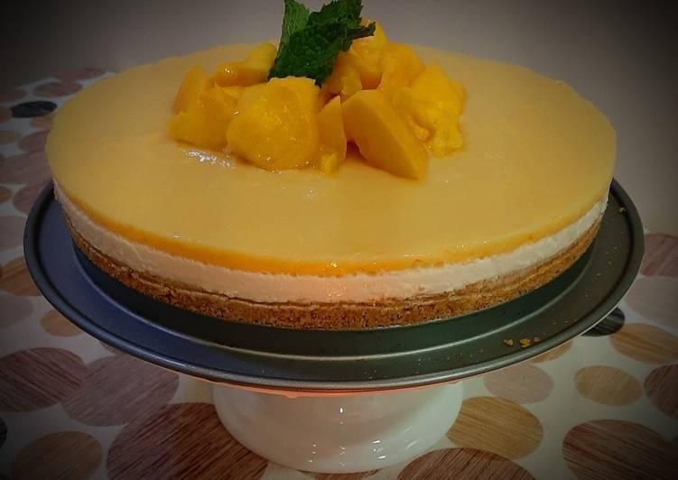 Recipe: Perfect Mango cheesecake
