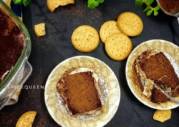 Recipe of Homemade Coffee biscuit pudding