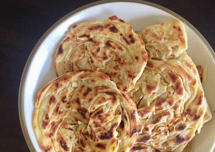 30 Minute How to Prepare Super Quick Homemade Roti Canai