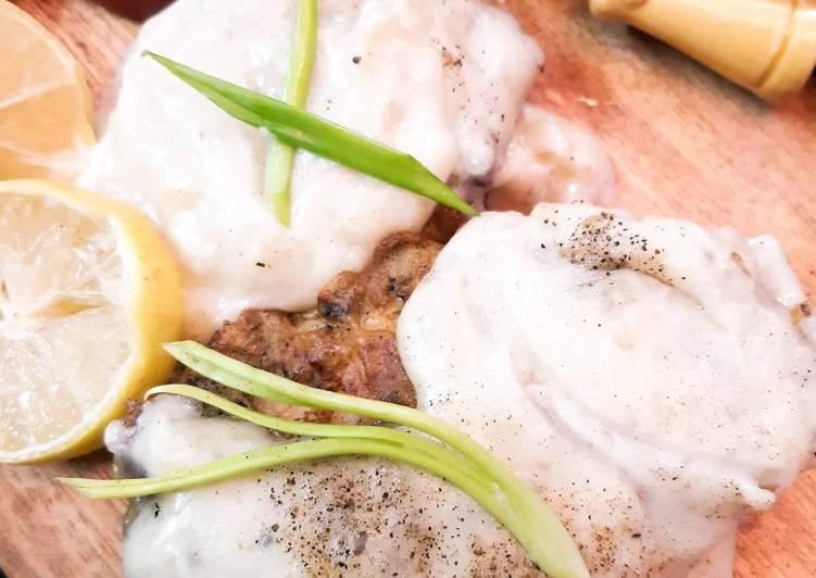 Easy Cheap Dinner White Sauce Fish
