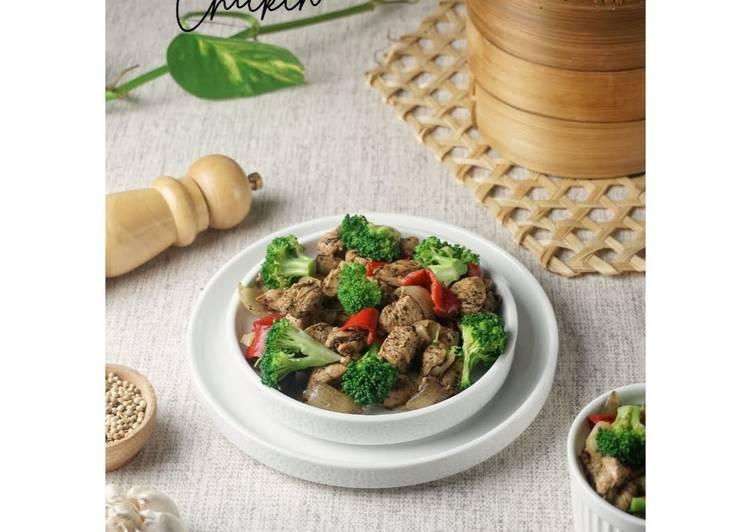 Black Pepper Chicken / Ayam Lada Hitam / Fillet Ayam
