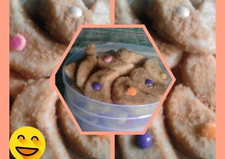 Bagaimana Menyiapkan Monde cookies tanpa telur yang Bikin Ngiler