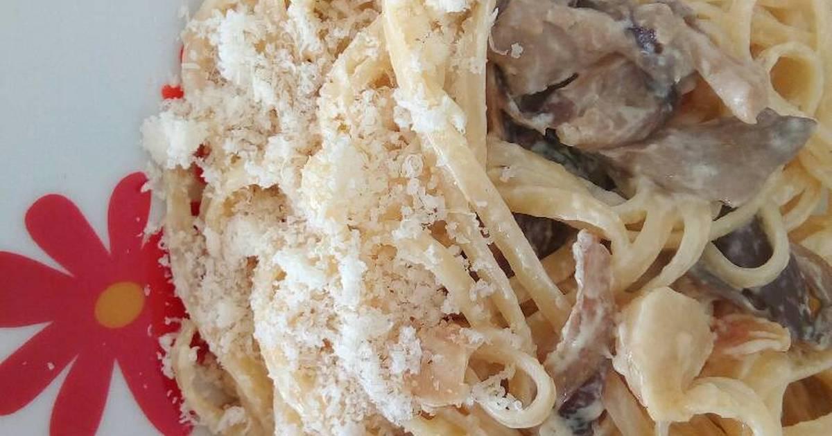 Salsa De Parmesano Roquefort Y Setas Para Pasta Receta De Sara Pa Cookpad
