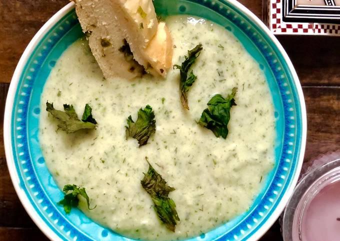 Celery & Potato Soup