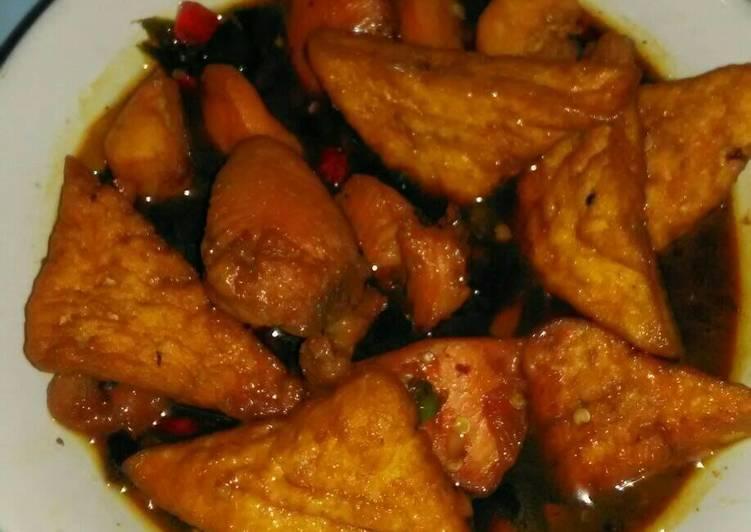 Resep Ayam Tahu Kecap Balado Oleh Fitri 232 Cookpad