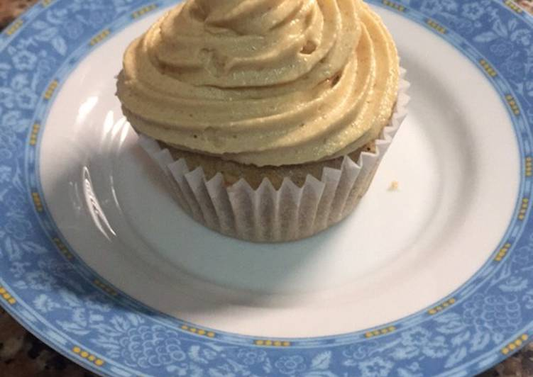 Easiest Way to Prepare Homemade Salted caramel cinnamon cupcakes