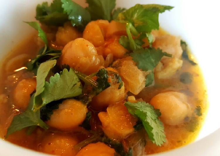 Healthy Chickpea Curry 😄