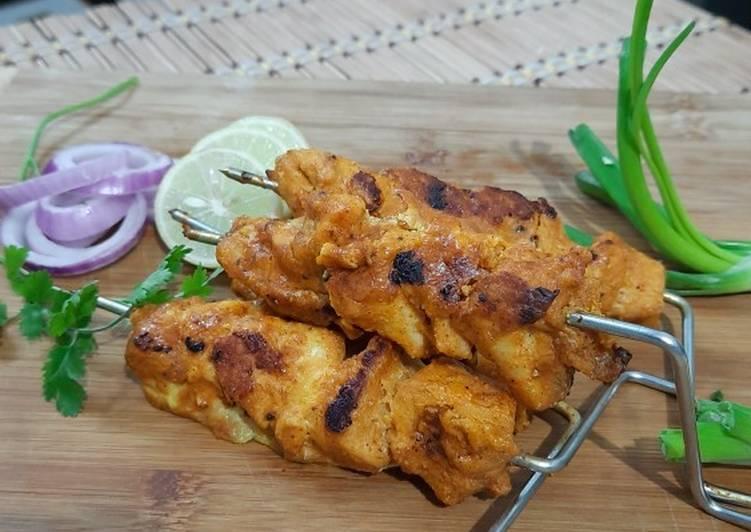 Chicken Tikka In Microwave