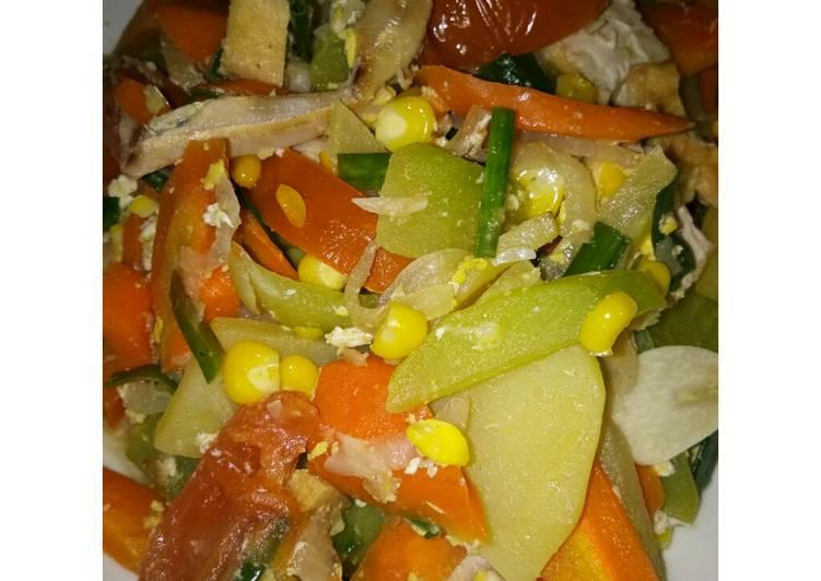 Capcai sayur sehat #menudiet