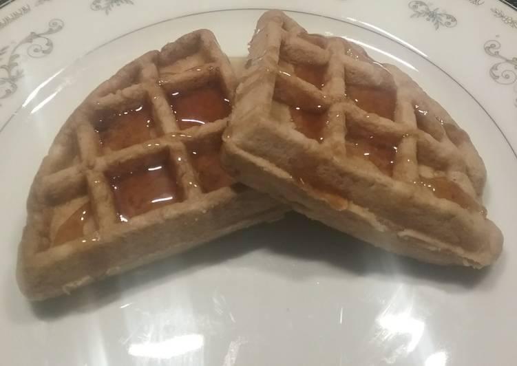 Hot Cocoa Waffles