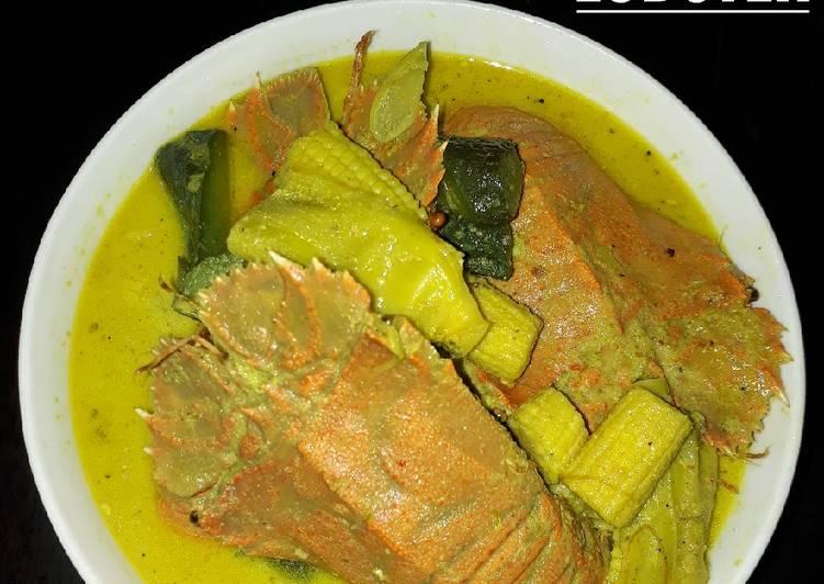 Gulai Asam Udang Lobster