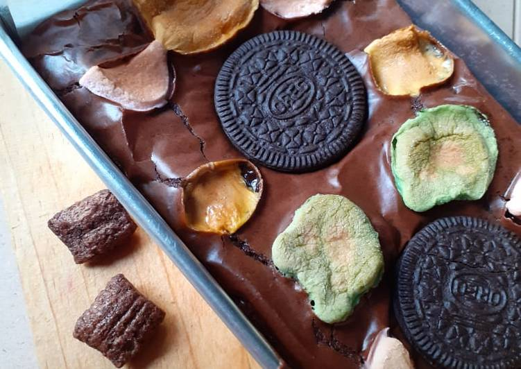 Brownies Oreo Marshmallow