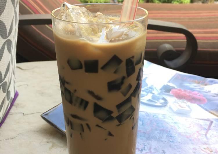 Grass Jelly Cappuccino