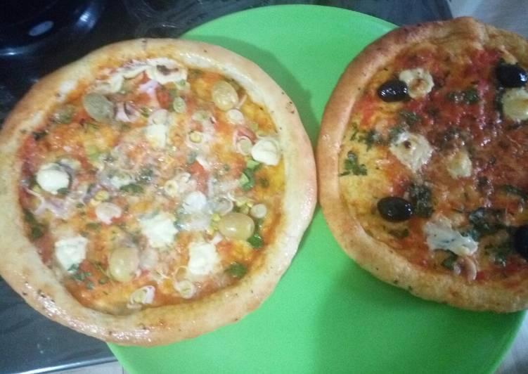 Pizza à la semoule