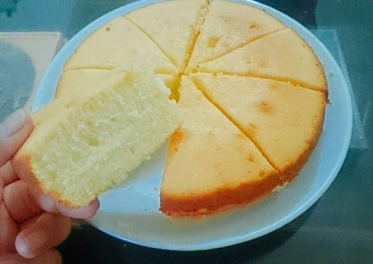 Lemon cheese soft cake