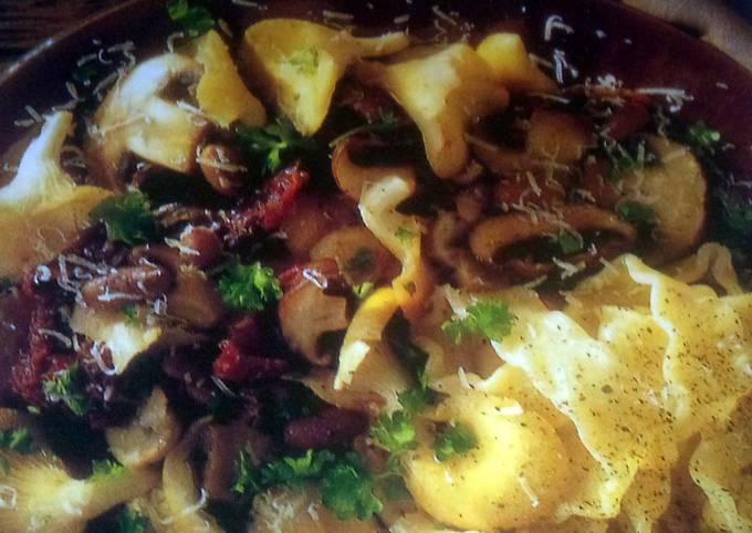 Sig's Beans with Mushrooms,