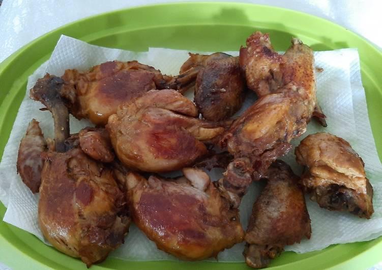 Ayam goreng presto bumbu racik kombinasi