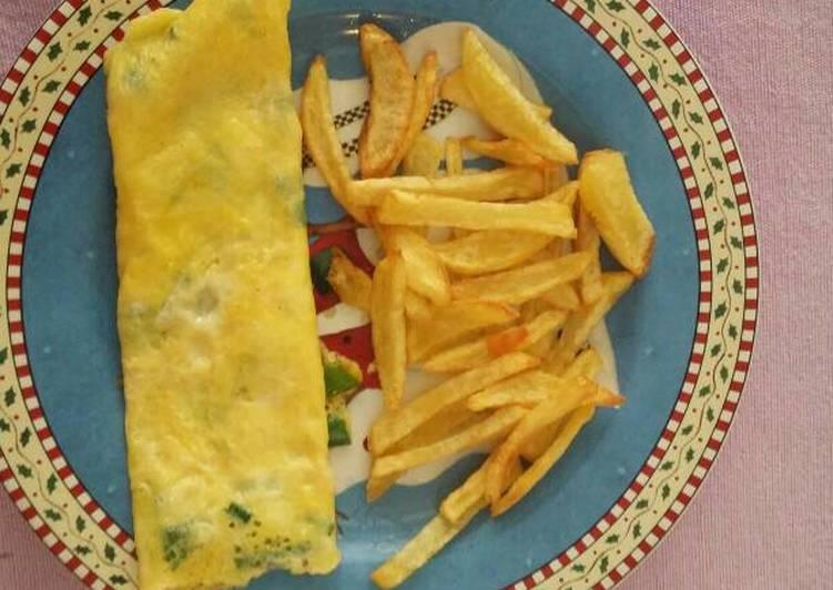 Recipe: Delicious My easy morning omlet