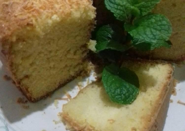 cara masak Bolu Keju Panggang Mantul - Sajian Dapur Bunda