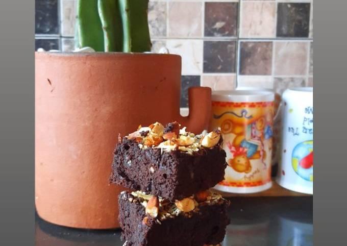 Brownies gluten free dg tepung ladang lima