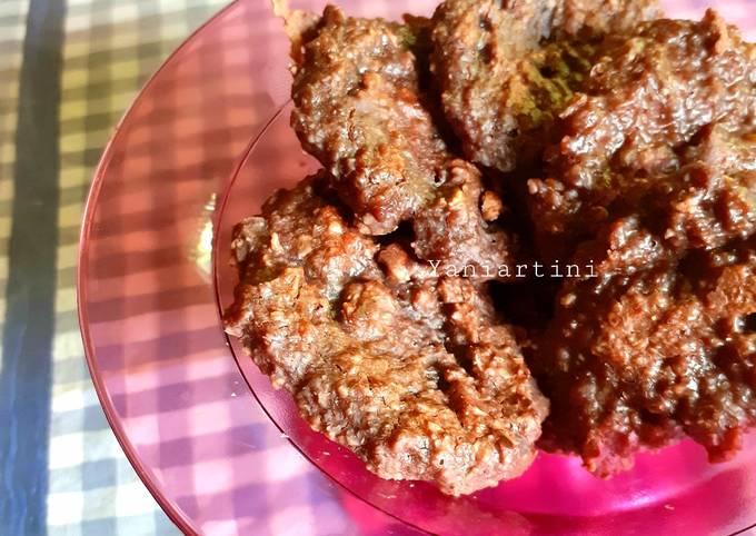 Cemilan : Cookies Oatmeal Teflon