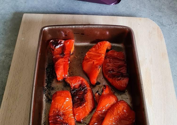 Le moyen le plus simple de Préparer Appétissante Poivrons grillés