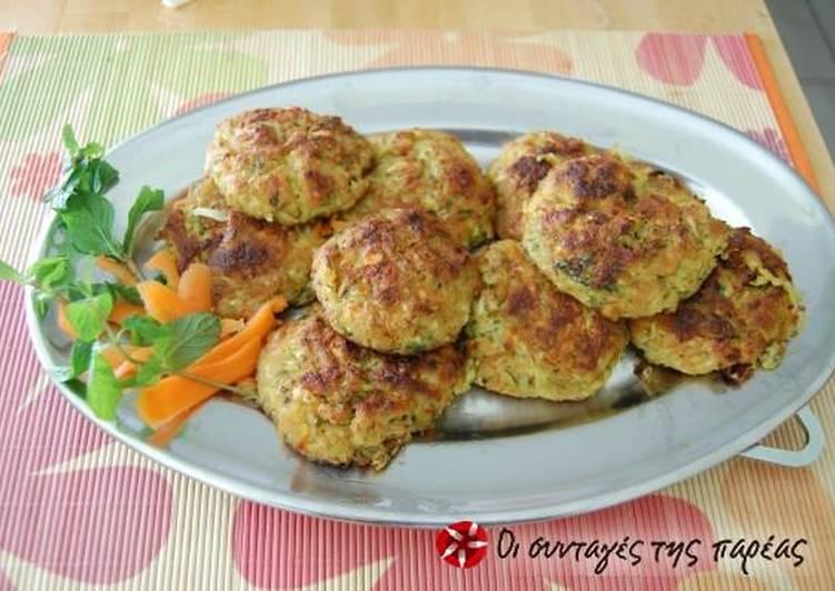 20 Minute Dinner Ideas Autumn Kolokythokeftedes in the oven