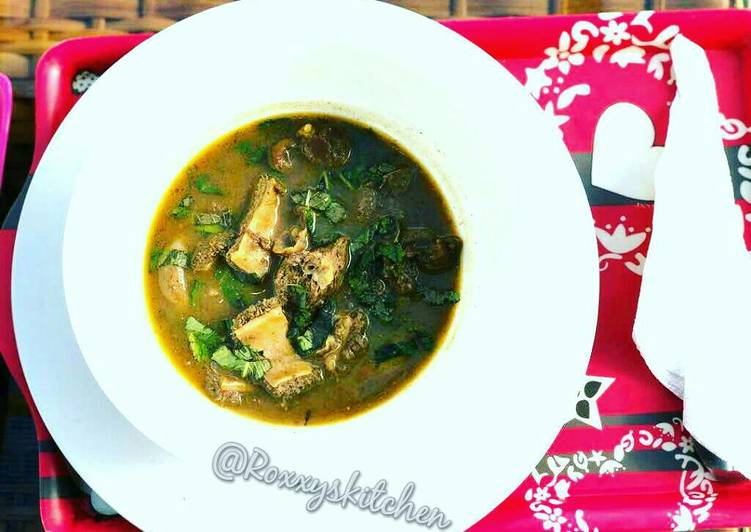 Easiest Way to Make Any-night-of-the-week Assorted meat peppersoup