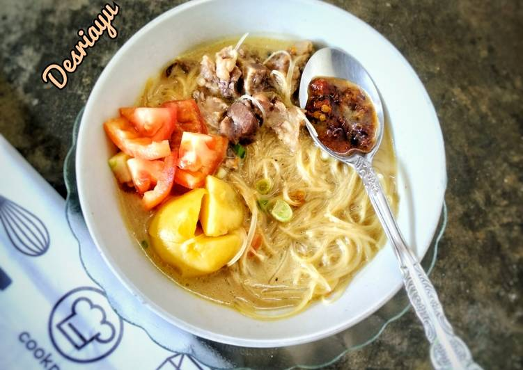 Soto Betawi Daging Sapi Kuah Santan Susu