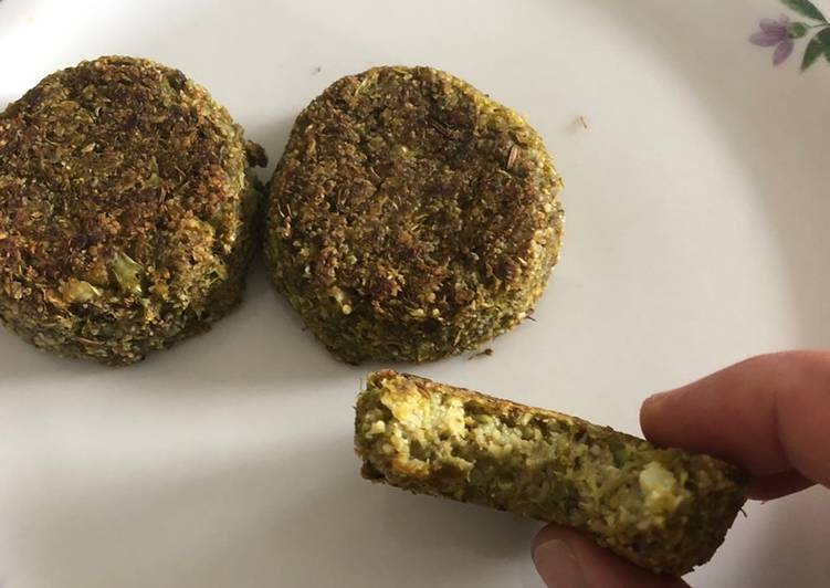 Recipe: Delicious Keto broccoli fitters