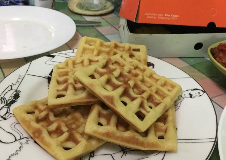 Resep Buttermilk Waffle Paling Gampang