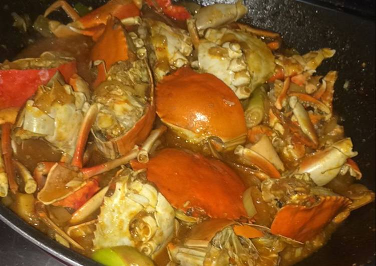 Resep Kepiting Asam Manis Oleh Rara Suwarno Cookpad