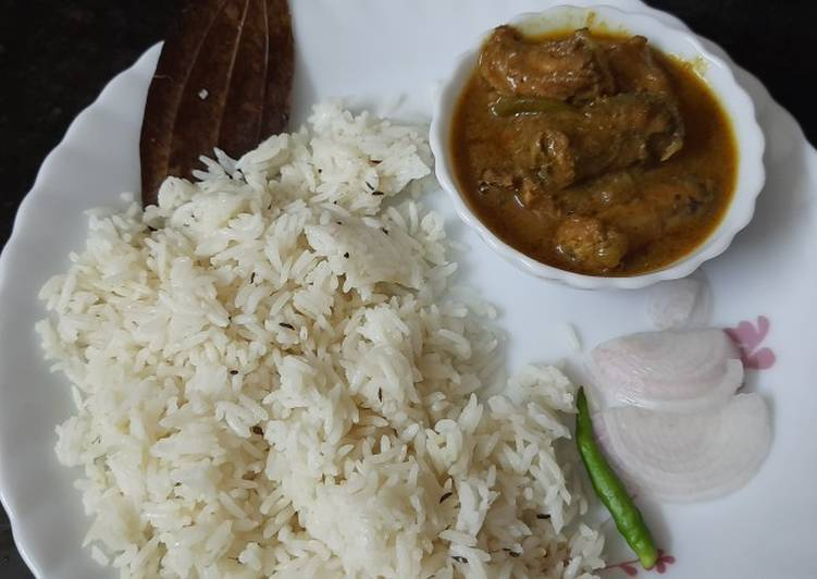 Chicken with jeera rice