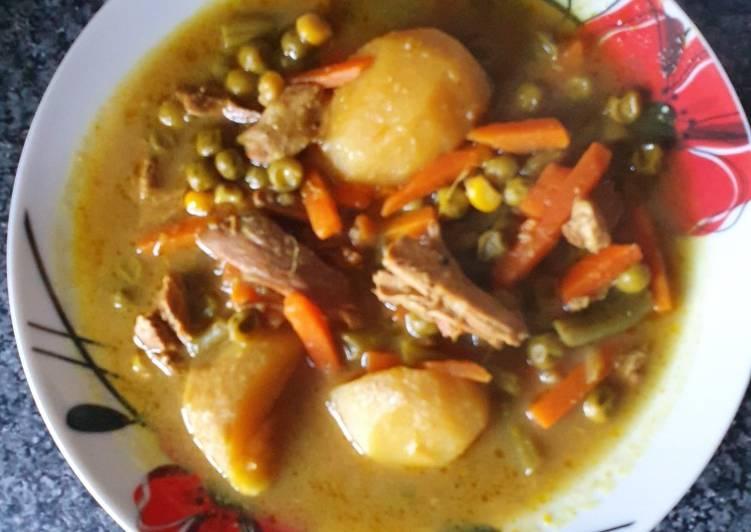 Chicken Curry Stew