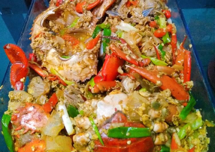 Kepiting saus lada hitam