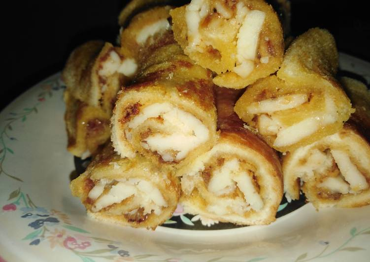 #17. Sandwich Gulung Abon
