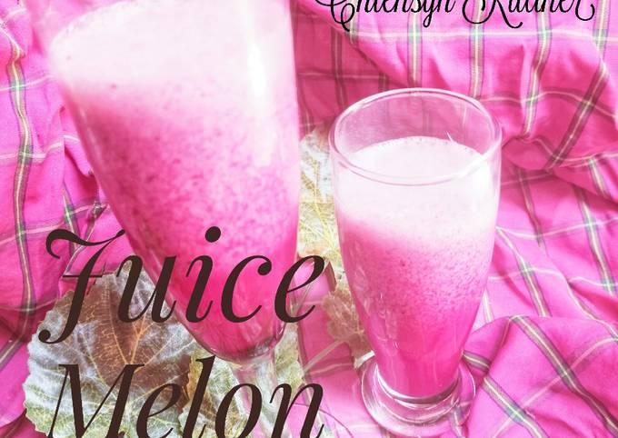 Juice Melon Buah Naga