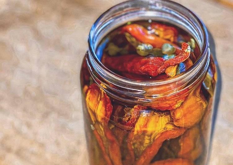 Ricetta Conserva di Pomodorini Secchi sott'olio EVO