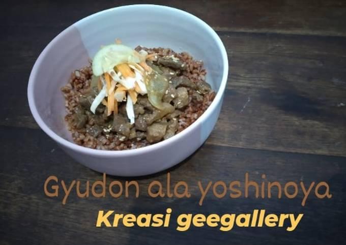 193. Gyudon ala yoshinoya