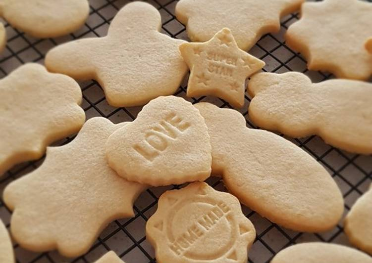 How to Make Award-winning Sugar Cookie (Plain - Before Dressing)