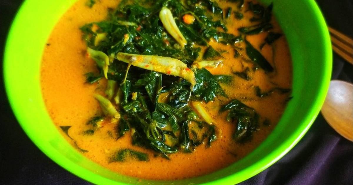 resep gulai daun singkong enak  sederhana ala rumahan cookpad Resepi Gulai Ayam Medan Enak dan Mudah