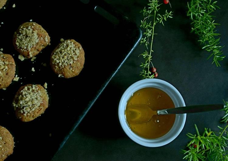 Greek honey Christmas cookies